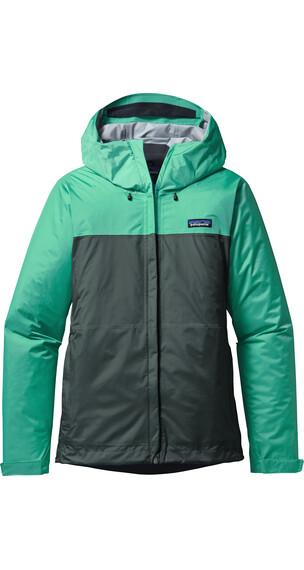 Patagonia Torrentshell Jacket Women Galah Green/Nouveau Green